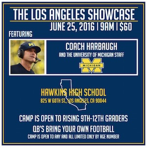 HARBAUGH POSTER