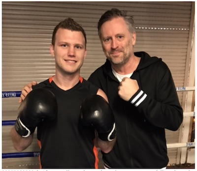 Jeff Horn and Ed