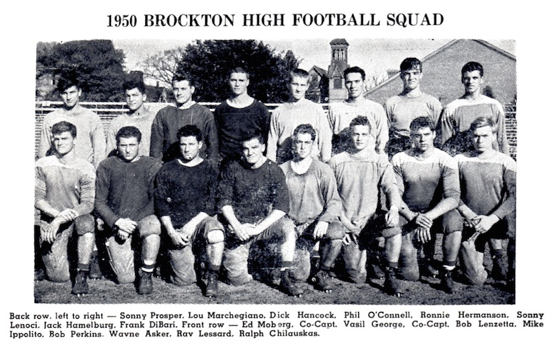 1950 brockton team